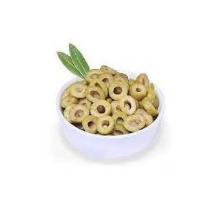 Aceituna verde laminada (250 grs)